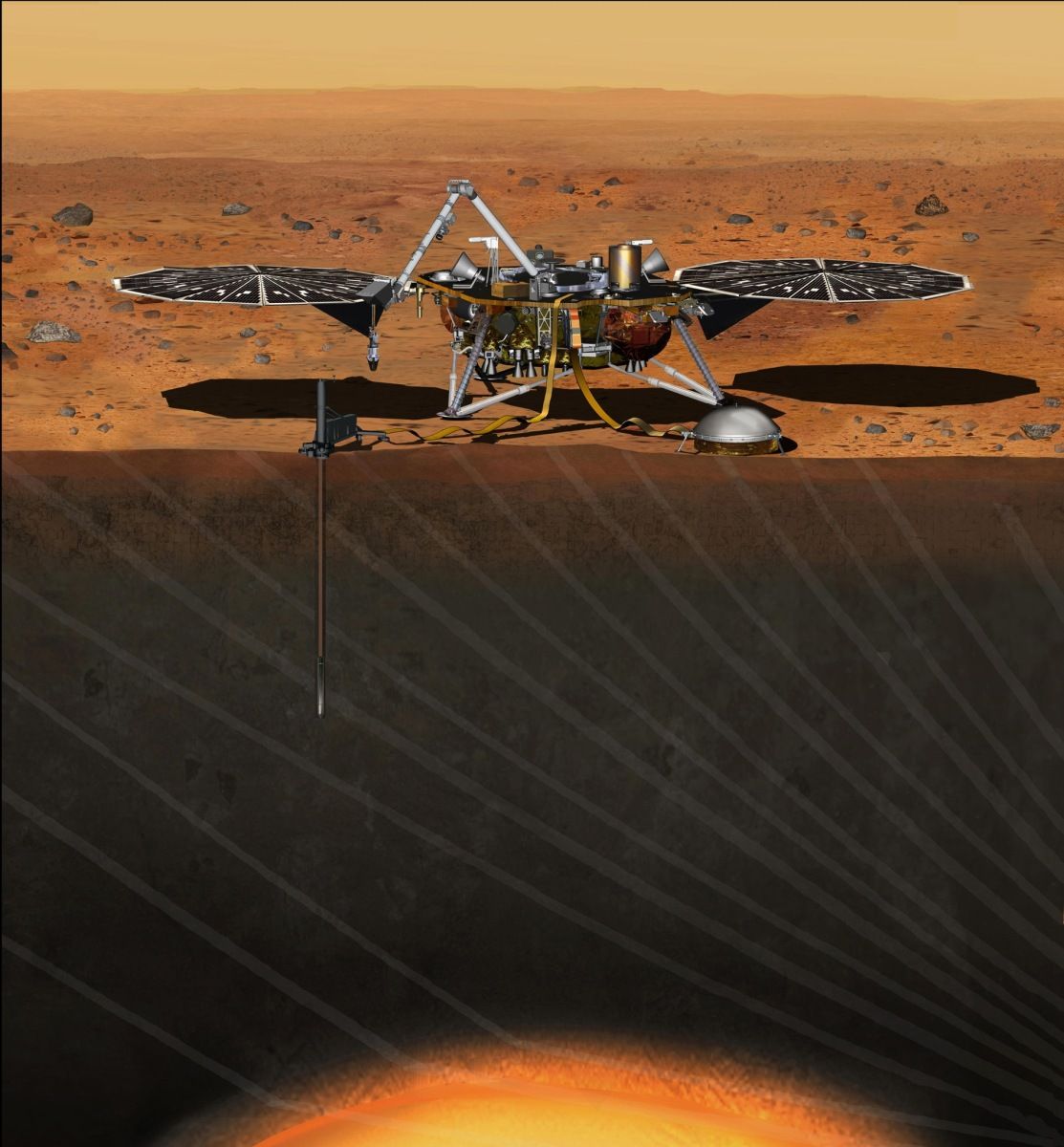 Peering Into The Interior of Mars - The Mars InSight Mission