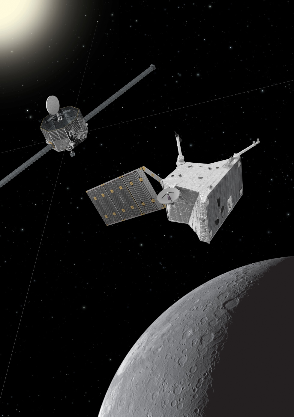 BepiColombo_at_Mercury
