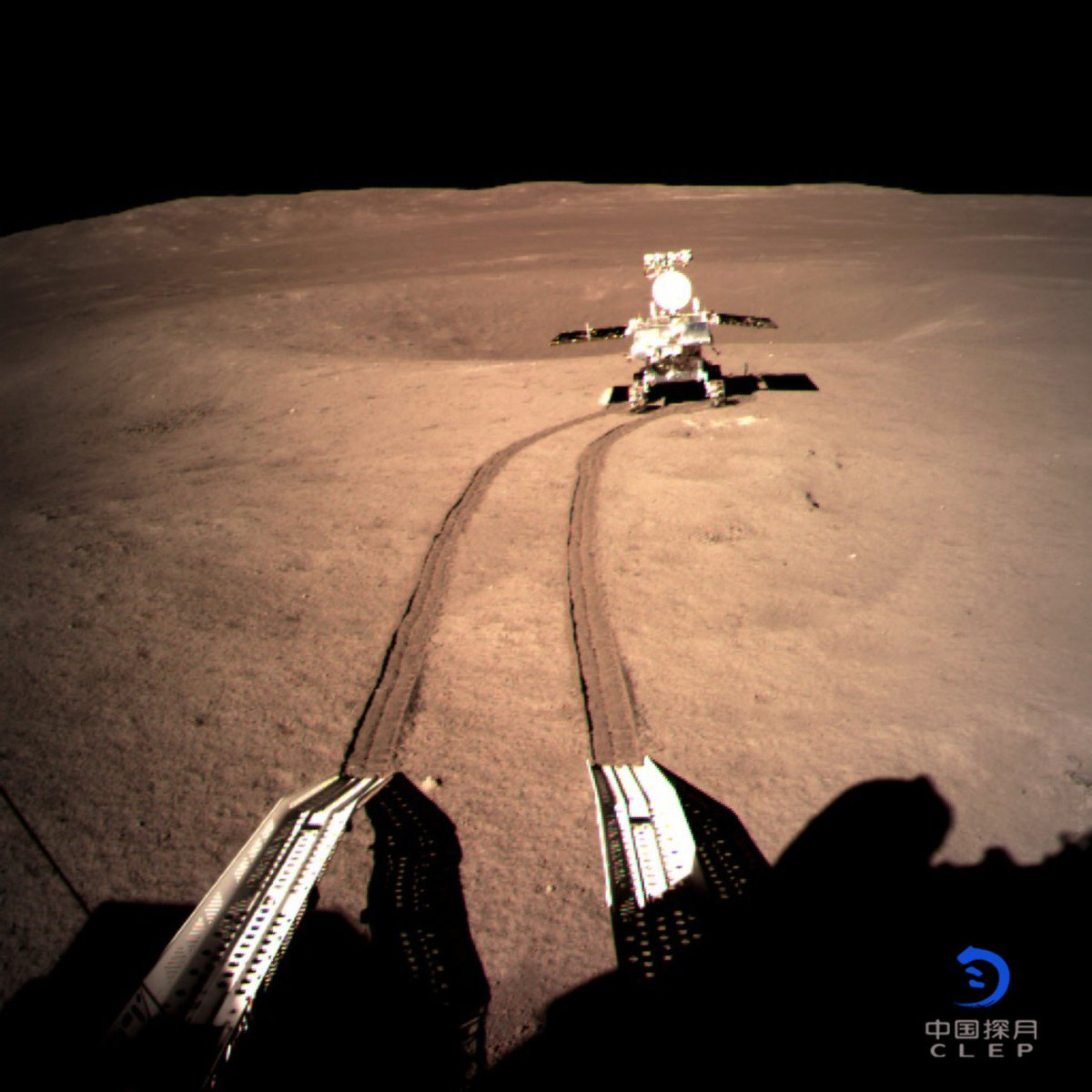 China's Rover on the Dark Side of the Moon